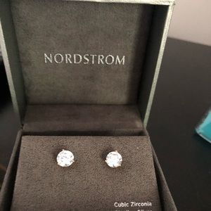Nordstrom cubic zirconia diamond earrings
